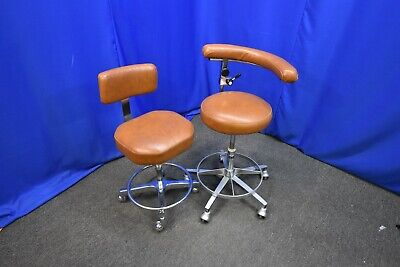 Dental Stool Pair Includes Dentist And Dental Assistant Stool
