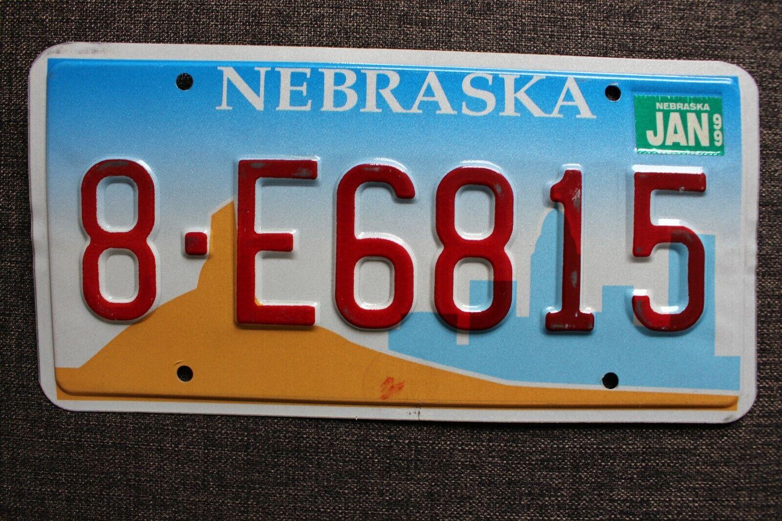 *NEBRASKA* USA / US / Amerika / Kennzeichen / Nummernschild / License Plate
