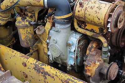 Antique John Deere Tractor Crawler 435 440 Water Pump Gm 253 Diesel