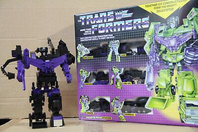 Transformers G1 Black Devastator reissue brand new Gift