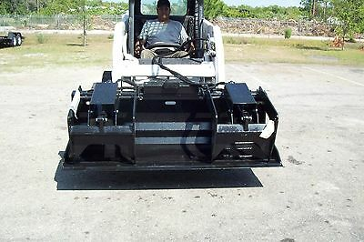 Skid Steer Grapple Bucket 72hd Designprotected Cylindersmade In Usasite Pro