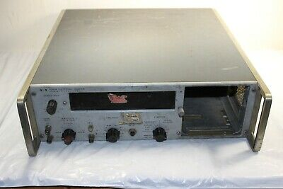 Vintage Hewlett Packard 5245m Electronic Counter Nixie Tube