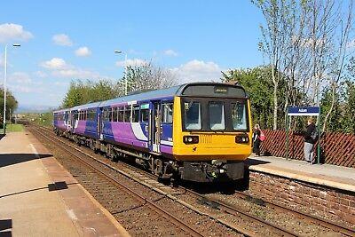 142025+153331 Arriva Rail North 6x4 Quality British Rail Photo