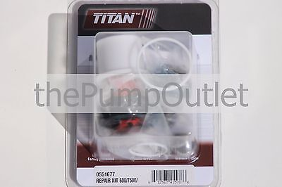 Titan Airless Paint Sprayer Packing Kit 0551677 600750e Spraytech Epx 2355 Oem