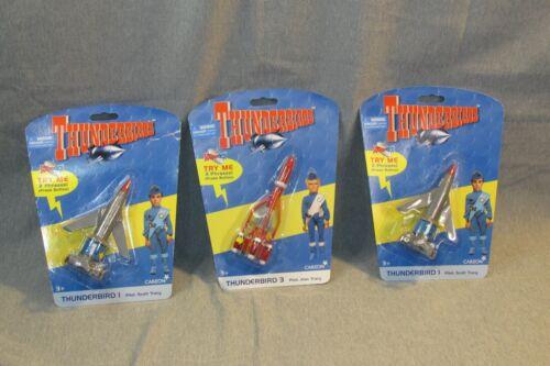 3 THUNDERBIRDS CARLTON  THUNDERBIRD 1 & 3  WITH SOUNDS
