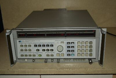 Hp Hewlett Packard 8341a Synthesized Sweeper .01-20ghz Bg1