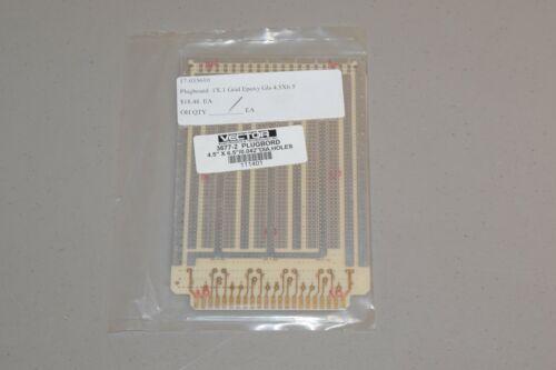 "New Vector Electronics & Technology 3677-2 Plugbord 4.5"" x 6.5"" .042"" Dia Holes"