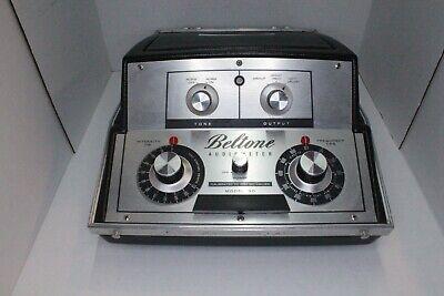 Beltone Model 9d Audiometer Hearing Tester With Beltone Headphones