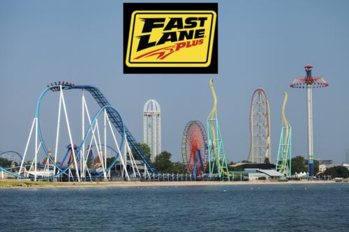2020 Cedar Point Admission Ticket WITH Fast Lane Plus Pass!
