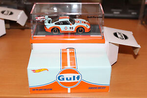 hot wheels rlc sold out gulf racing porsche 993 gt2 red line club exclusive new ebay. Black Bedroom Furniture Sets. Home Design Ideas