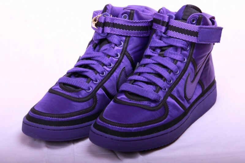 buy popular 0cb1d f969e Nike Vandal High Supreme Court Purple NSW Blazer Prm AQ2176 500 Size 10.5
