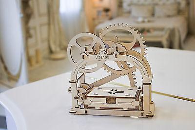 3D Holzpuzzle SCHATULLE mechanischer Baukasten ORIGINAL UGEARS Geschenk