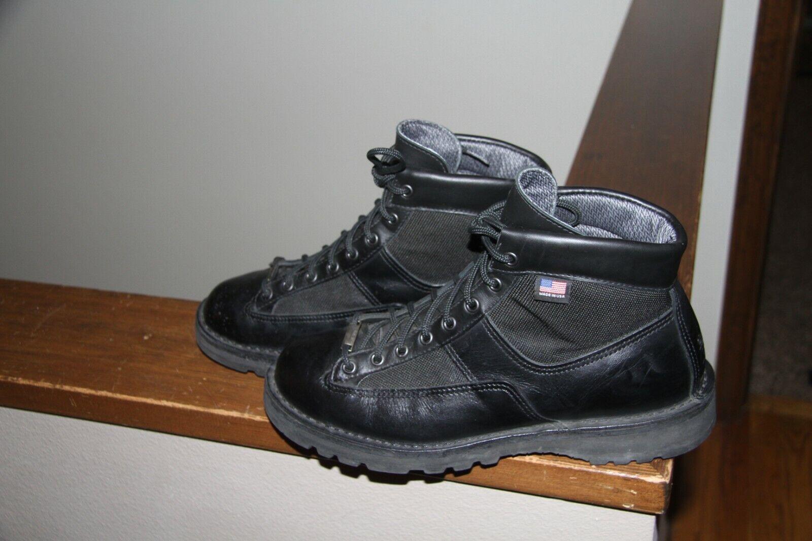"USA Danner 25200 Men's Patrol 6"" Black Gore-tex Boots Shoes"