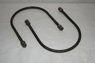 New - Lot Of 2 Fire Sprinkler System Water Main Pipe Clamp 8 Dia. U-bolt