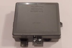 Sylvania Telephone Network Interface Device Protector NID SNID 2 PR NEW CP-800