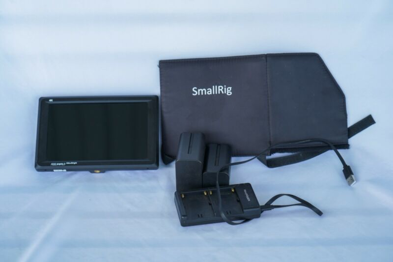 FEELWORLD FW279 7 Inch DSLR Camera Field Monitor 2200nit Ultra Bright 4K HDMI