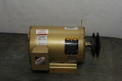 5hp 5 Horsepower Baldor Super-e 3 Phase Motor