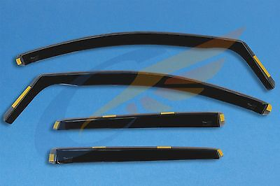 FORD KUGA mk II mk2 5 doors 2012-onwards wind deflectors 4-pc set HEKO Tinted
