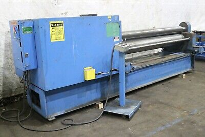 8 X 316 Montgomery Hydraulic Plate Bending Roll Yoder 72775