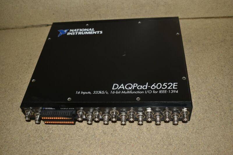 ^^ NATIONAL INSTRUMENTS NI DAQPad-6052E Acquisition Module (GS10)