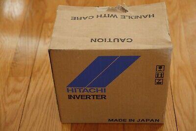 Hitachi Wj200-004hf Ac Drive 12hp Vfd