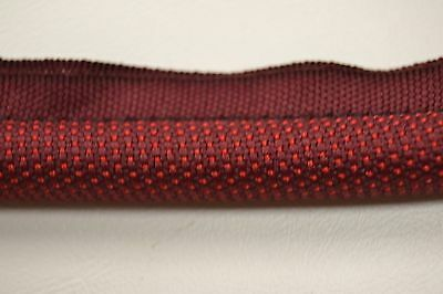 Core Red Stitch - STITCHED CLOTH HEADLINER WINDLACE DARK RED / MAROON 1/2 INCH CORE TOP QUALITY