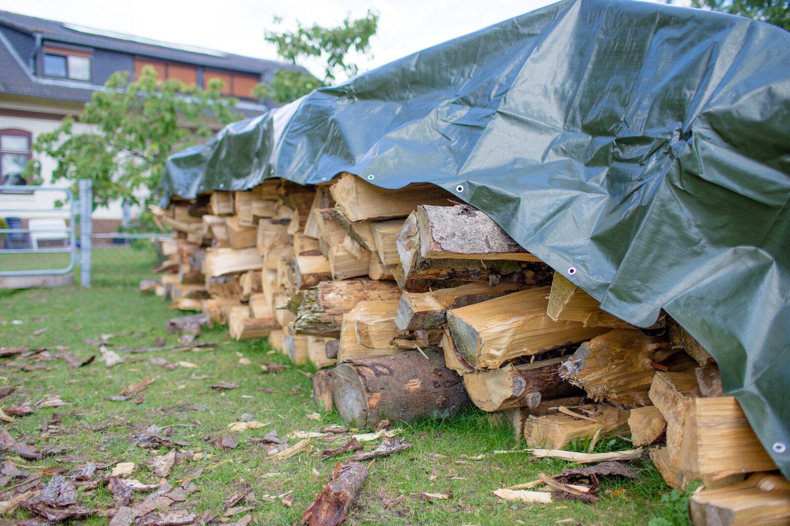Abdeckplane Gewebeplane Industrieplane Schutzplane Bau Holz Garten Plane Ösen