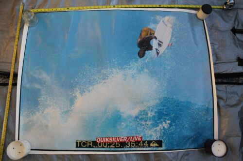 Quiksilver KELLY SLATER Big Air Channel Islands Vintage 36x48in. (Used) POSTER