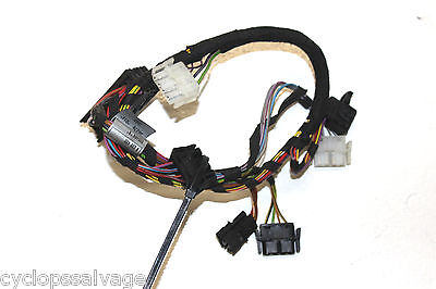 bmw oem e46 left front driver seat wiring harness w memory bmw oem e46 left front driver seat wiring harness w memory 52108226430 330 328