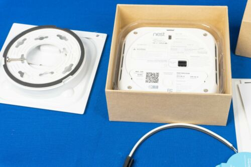 Nest 06C WIRED Protect Smoke and Carbon Monoxide Alarm Detector IN BOX