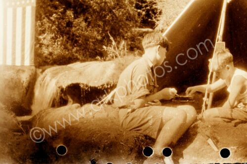 8x12 Photo of Vintage US Boy Scouts in India 1934 Scouting BSA USA United States