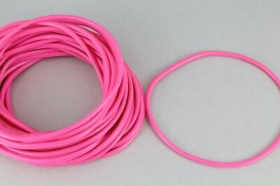Pink set pack lot of 30 jelly rubber gummy bangle bracelet 80s - 80s Jelly Bracelets