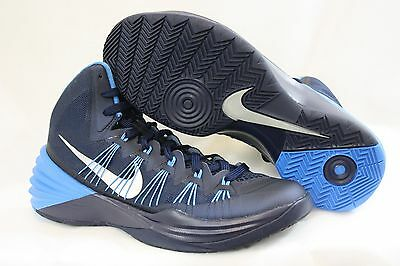 NEW Womens NIKE Hyperdunk 2013 TB 599527 400 Navy Blue Basketball Sneakers Shoes