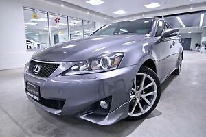 2013 Lexus IS 250 IS 250 AWD, ONE OWNER, NON SMOKER, FULL SERVIC