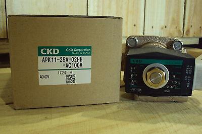 Ckd Piston Kick Type Valve Apk11-25a-02hhac100v