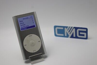 Apple iPod mini 2. Generation Silber (4GB) 2G MP3 player ( Rarität 2003) #M26 2. Generation 4gb Mp3-player