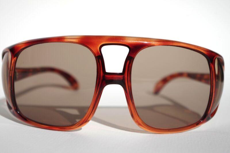Vintage Sunglasses Tortoiseshell Wraparound
