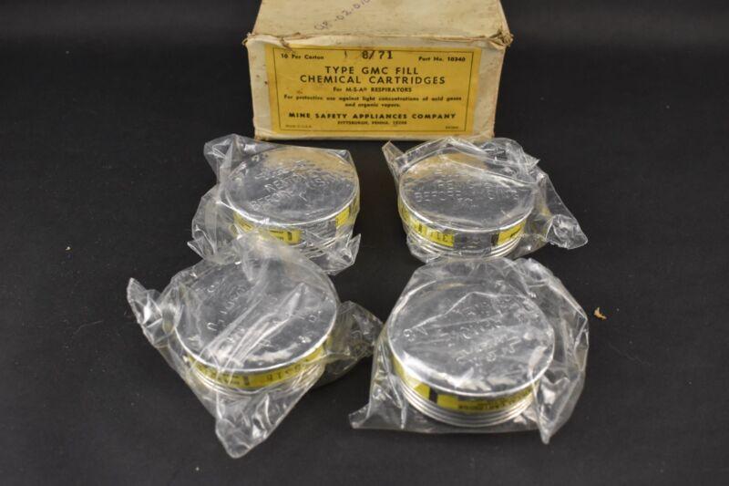 VINTAGE Lot of 4 - Unused GMC Fill Chemical Cartridges