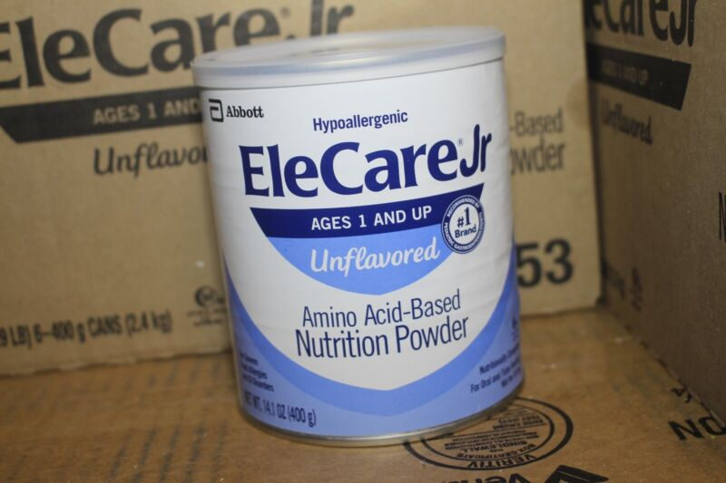 *NEW* Unopened Elecare jr unflavored 1 Can Expires 11/2021
