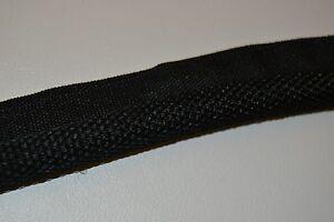 STITCHED CLOTH BLACK HEADLINER WINDLACE FORD CHRYSLER GM 1/2 INCH CORE MOPAR