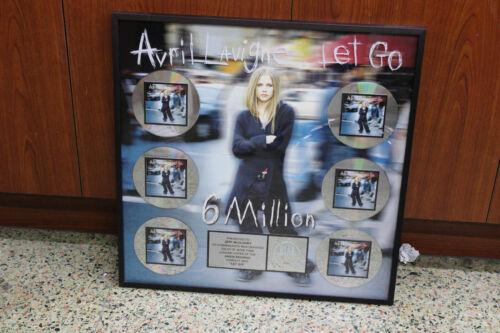 Avril Lavigne Riaa multi platinum Award for Let GO 6 Million