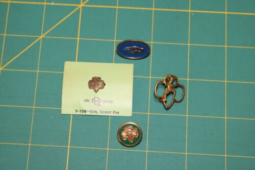 Vintage Girl Scout Pins