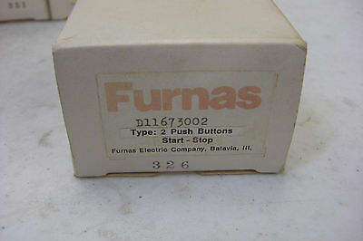 New Furnas D11673002 Start Stop Push Button