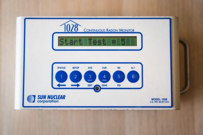 1028 Sun Nuclear Radon Monitors