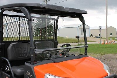KUBOTA RTV X900 X1120 X1140 2 PIECE VENTED WINDSHIELD SALE!!!