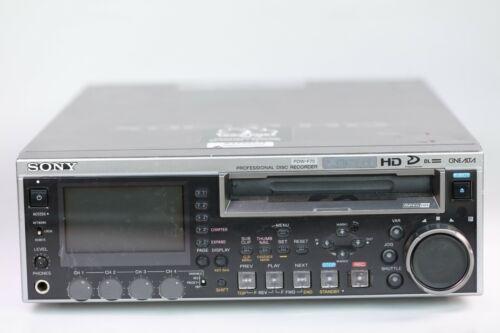 Sony PDW-F75 HD XDCAM Professional Disc Recorder Deck