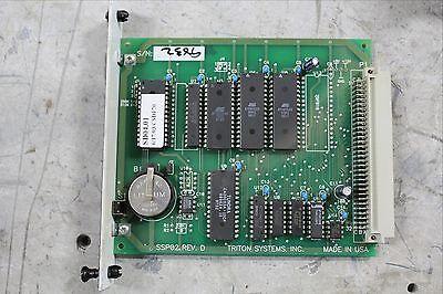 Triton Systems Memory Module Module Plc Ssp02 Rev. D 9600-2002 96002002