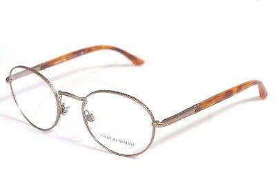 New Authentic GIORGIO ARMANI AR5002 3004 Matte Bronze 51-20-140 RX Eyeglasses (Giorgio Armani Frames)