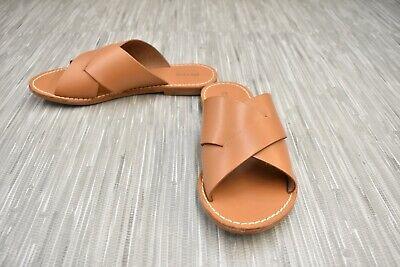 **Soludos Paros 1000550-210 Slide Sandals, Women's Size 7, Tan