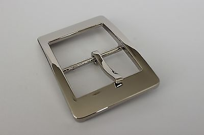 "1 x New Men/'s Belt Pin Buckle 1.5/"" Double Loop for Leather Belt"